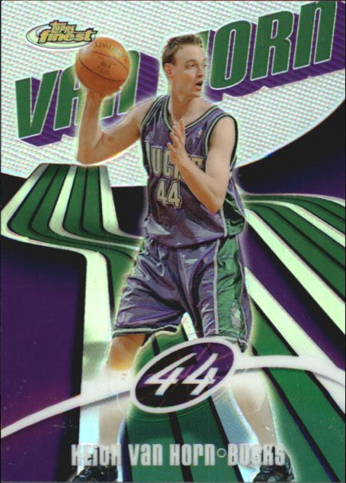 2003-04 Finest Refractors #2 Keith Van Horn