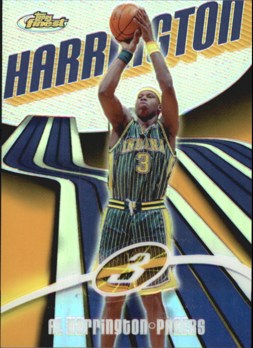 2003-04 Finest Refractors #4 Al Harrington