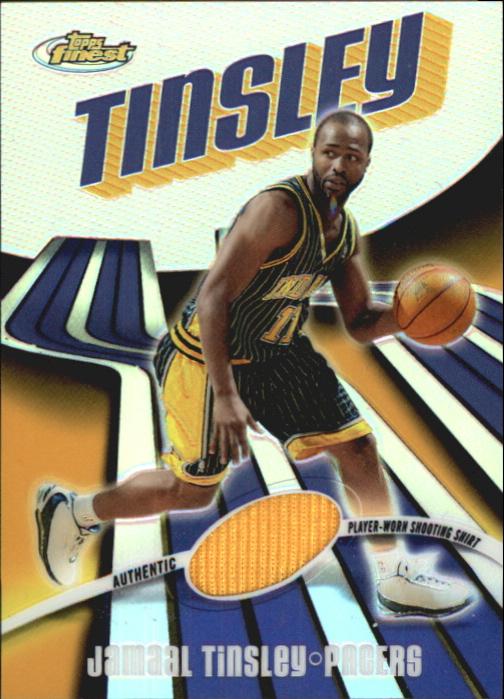 2003-04 Finest Refractors #6 Jamaal Tinsley