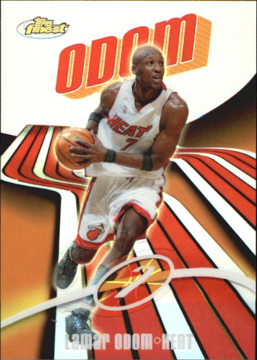 2003-04 Finest Refractors #7 Lamar Odom