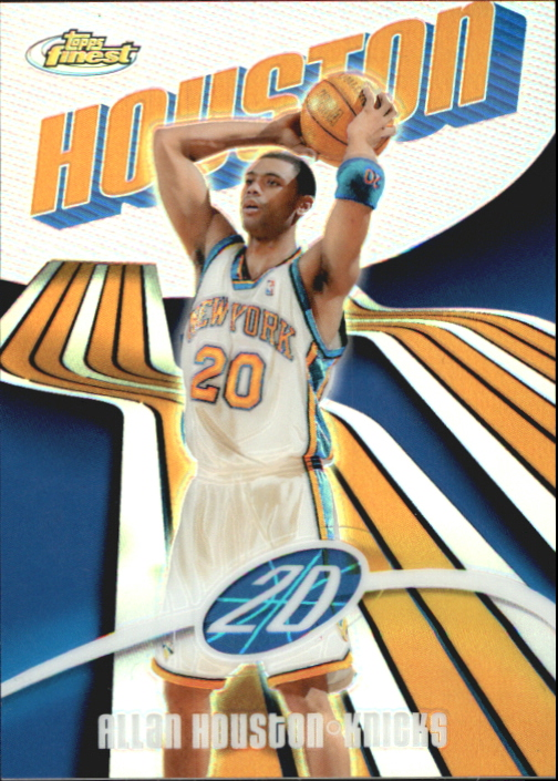 2003-04 Finest Refractors #20 Allan Houston