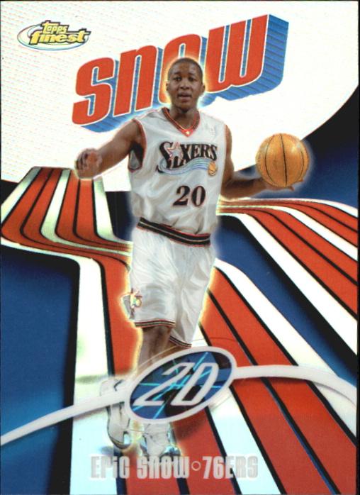 2003-04 Finest Refractors #41 Eric Snow