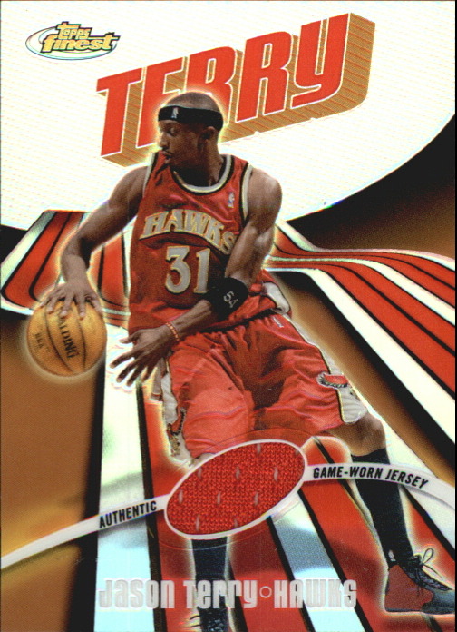 2003-04 Finest Refractors #47 Jason Terry