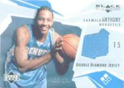 2003-04 Black Diamond Jerseys Double Diamond #BD2CA Carmelo Anthony