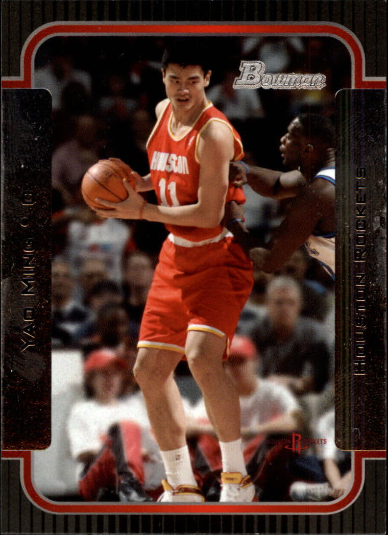 2003-04 Bowman #1 Yao Ming