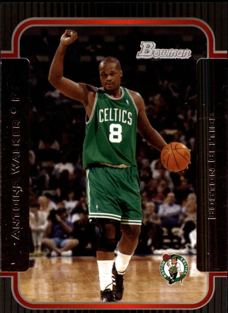 2003-04 Bowman #3 Antoine Walker