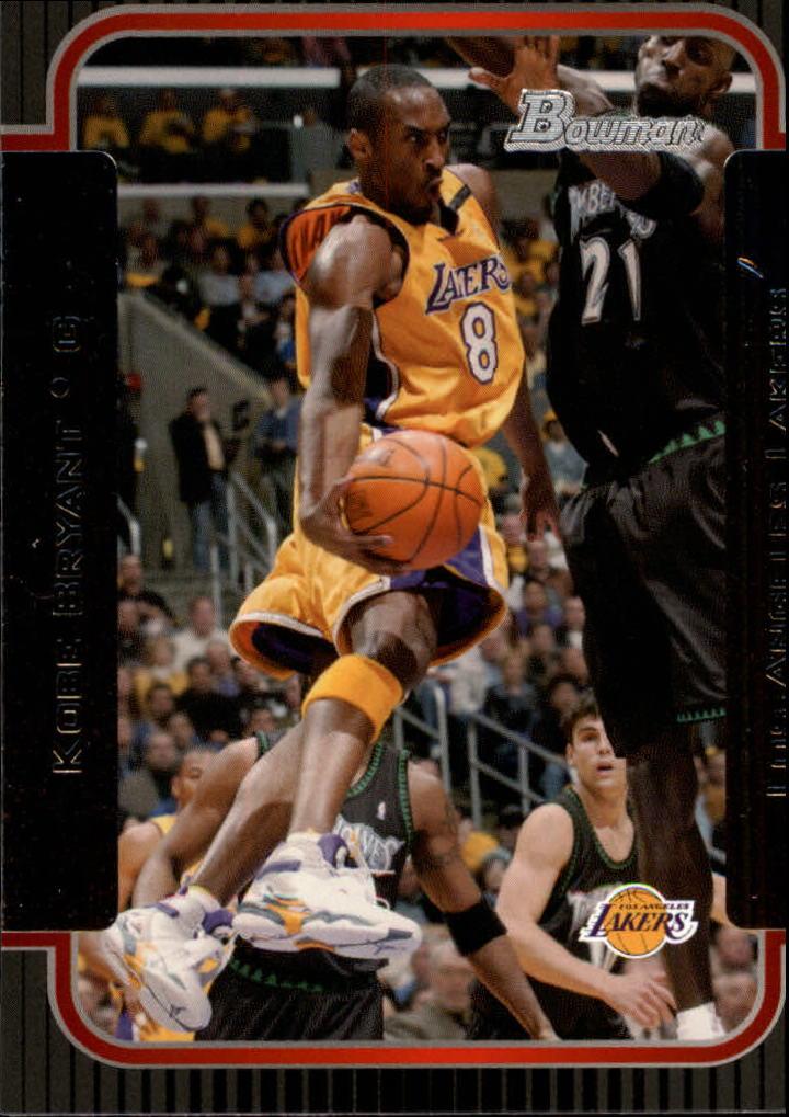2003-04 Bowman #100 Kobe Bryant