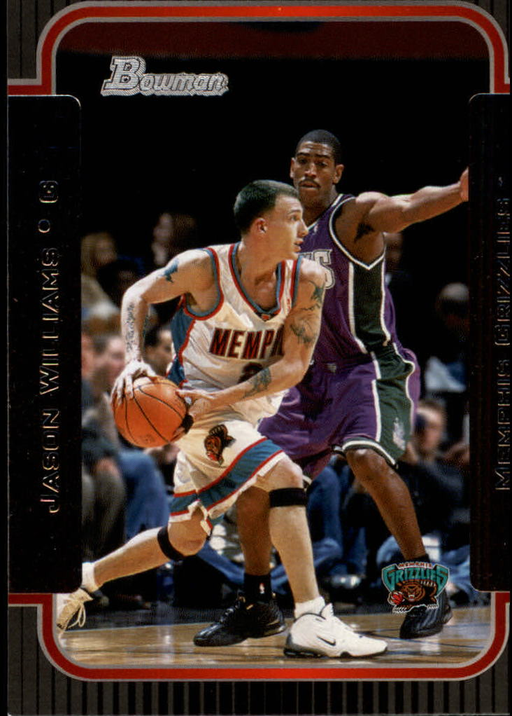 2003-04 Bowman #103 Jason Williams