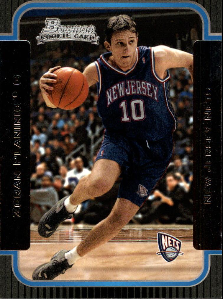 2003-04 Bowman #126 Zoran Planinic RC
