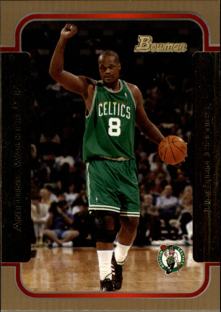 2003-04 Bowman Gold #3 Antoine Walker