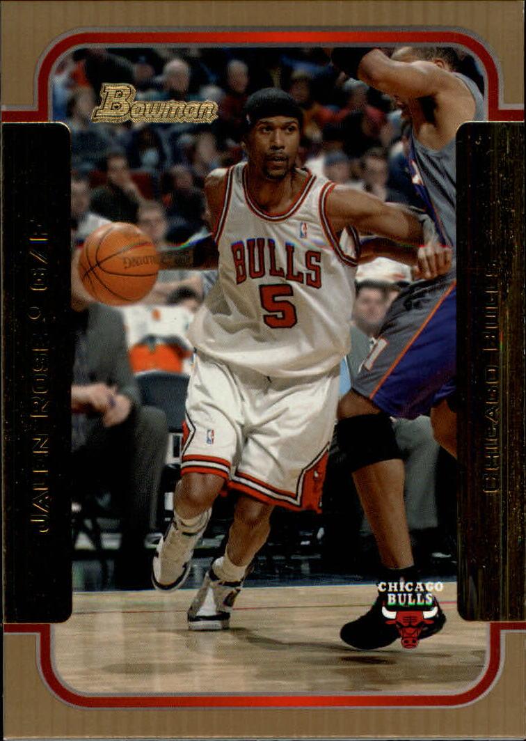 2003-04 Bowman Gold #4 Jalen Rose