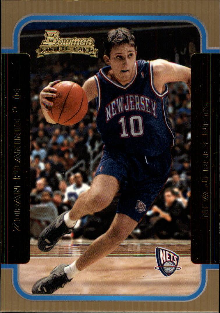 2003-04 Bowman Gold #126 Zoran Planinic