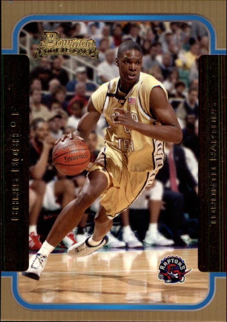 2003-04 Bowman Gold #153 Chris Bosh