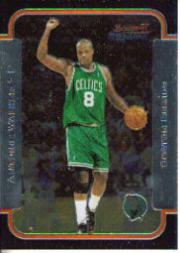 2003-04 Bowman Chrome #3 Antoine Walker
