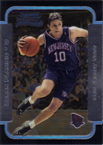 2003-04 Bowman Chrome #126 Zoran Planinic RC