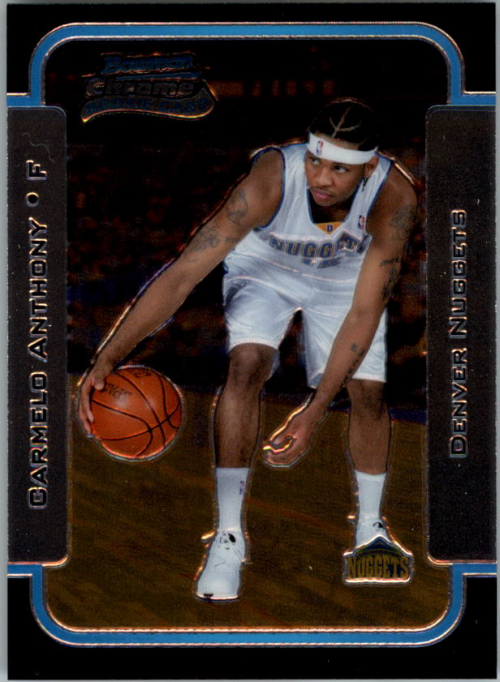 2003-04 Bowman Chrome #140 Carmelo Anthony RC