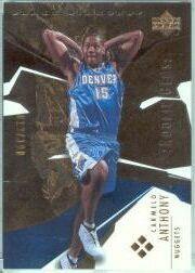 2003-04 Black Diamond Bronze #186 Carmelo Anthony