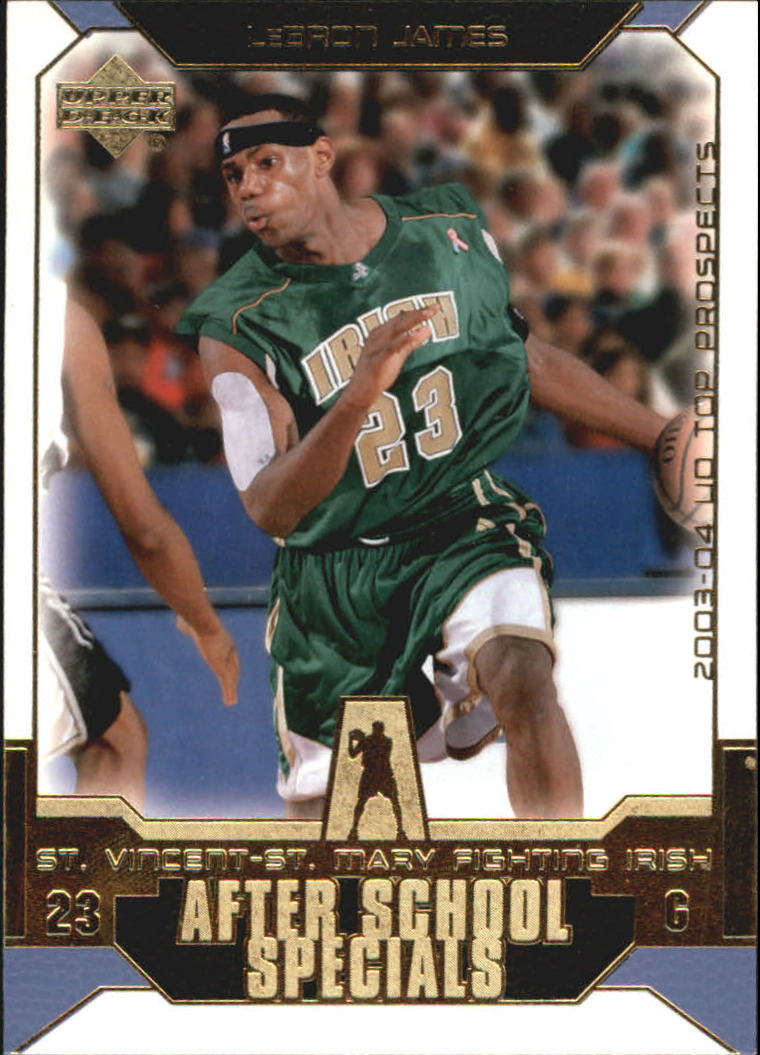 2003-04 UD Top Prospects After School Specials #AS1 LeBron James