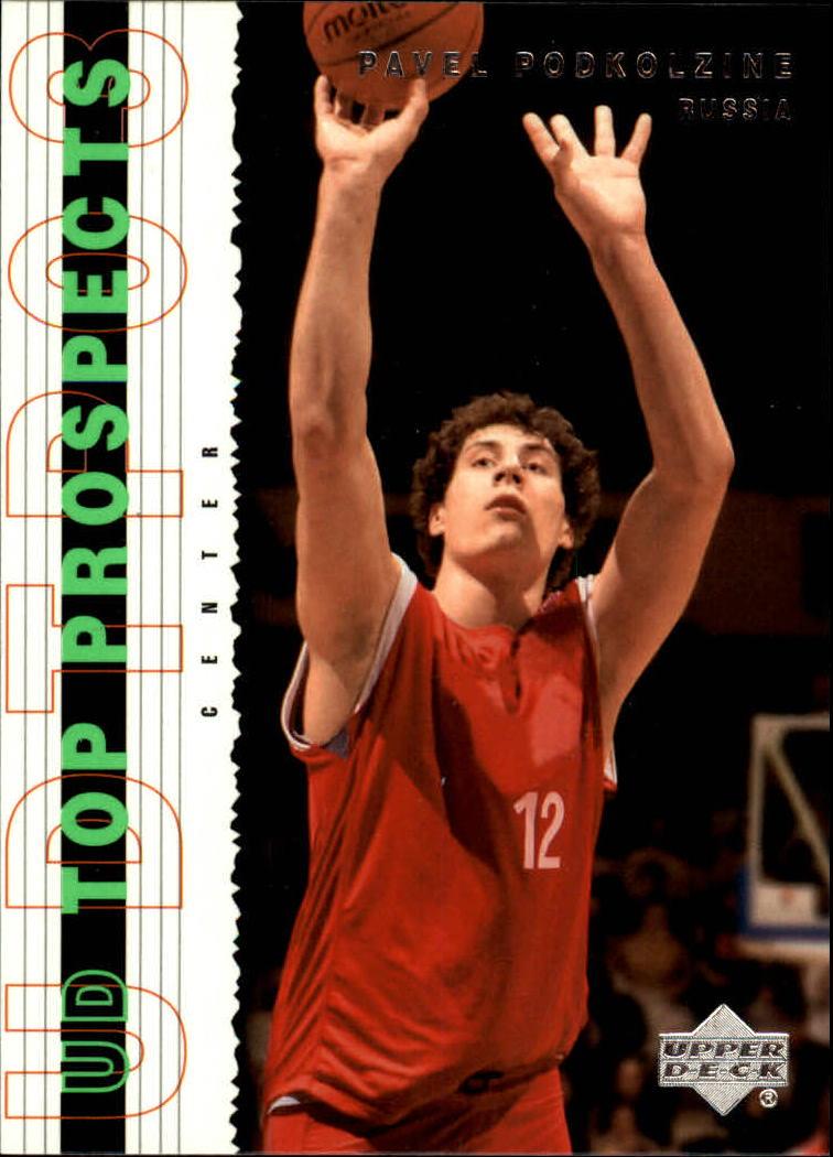 2003-04 UD Top Prospects #6 Pavel Podkolzin