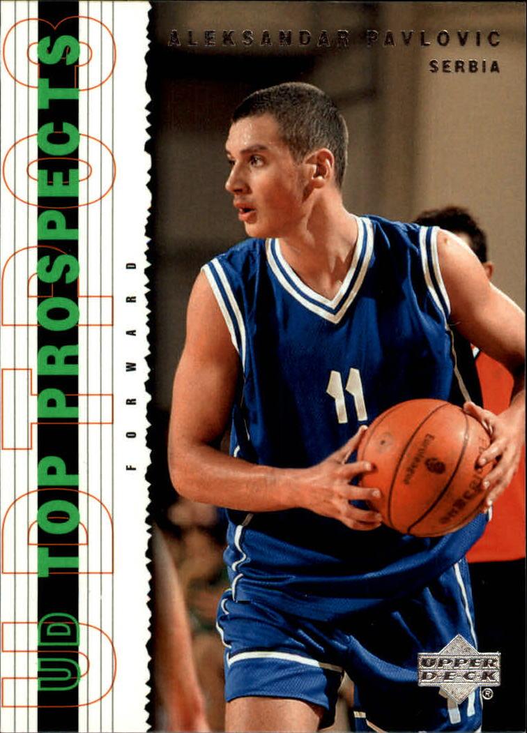 2003-04 UD Top Prospects #21 Aleksandar Pavlovic