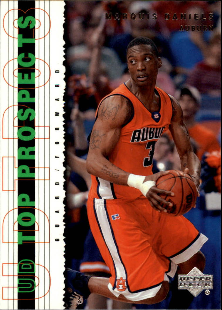 2003-04 UD Top Prospects #40 Marquis Daniels