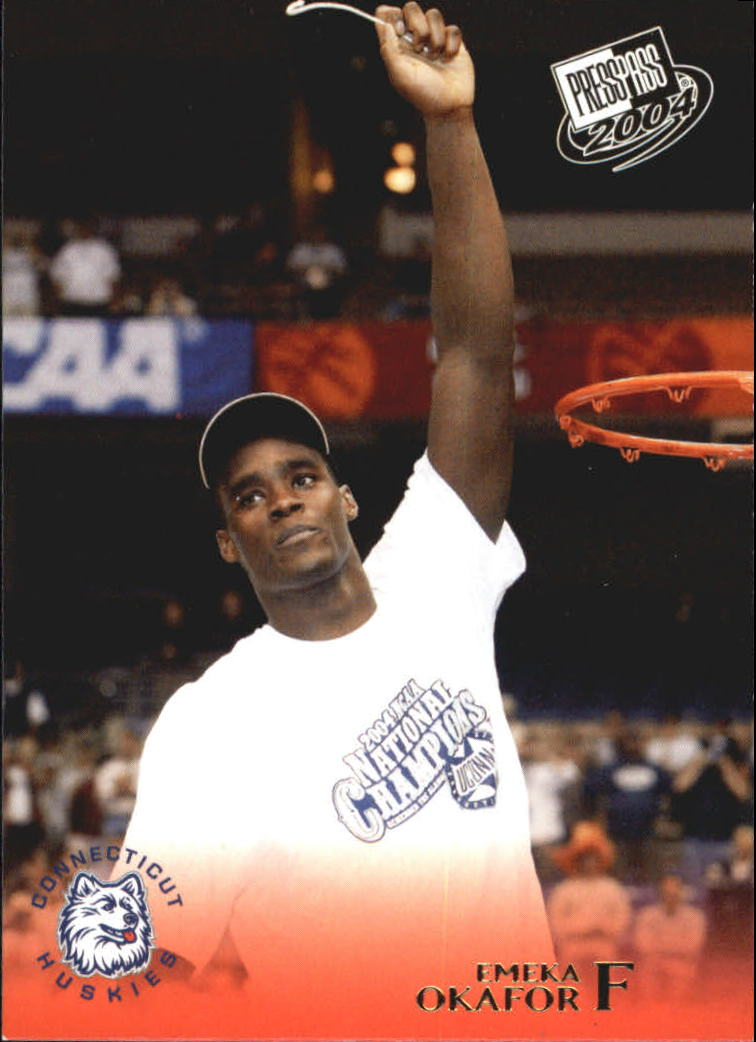 2004 Press Pass Gold #33 Emeka Okafor CL