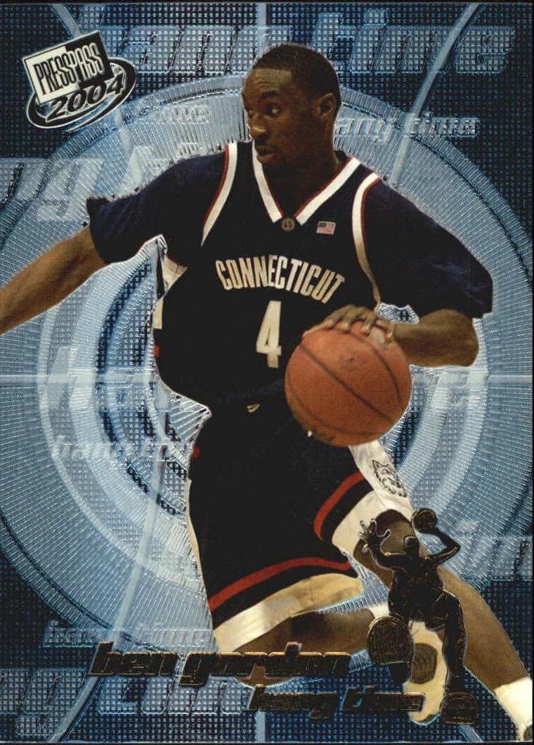 2004 Press Pass Hang Time #1 Ben Gordon