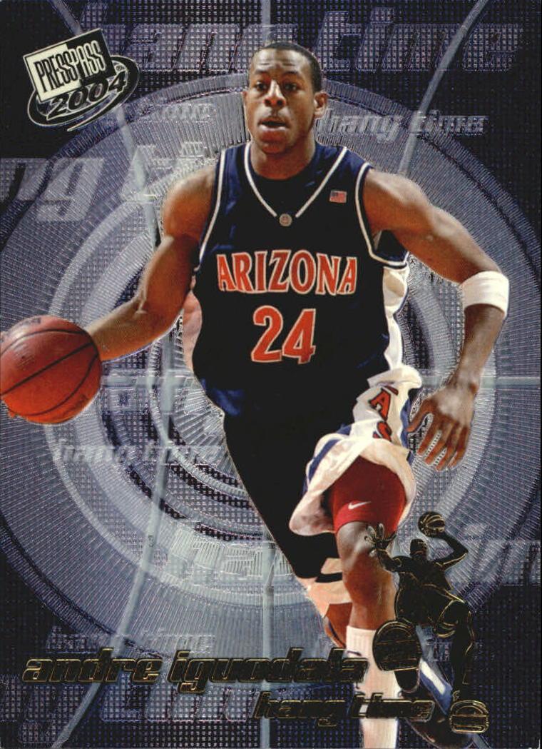 2004 Press Pass Hang Time #2 Andre Iguodala