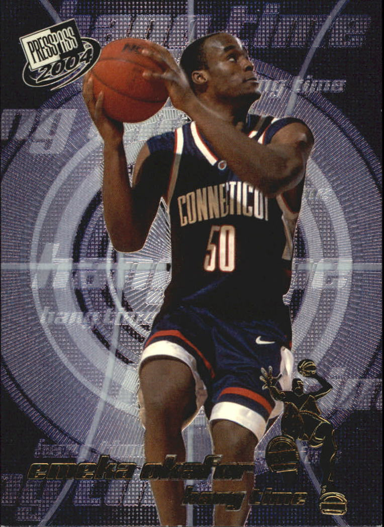 2004 Press Pass Hang Time #3 Emeka Okafor