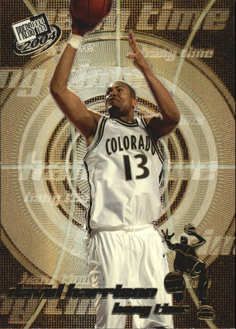 2004 Press Pass Hang Time #8 David Harrison
