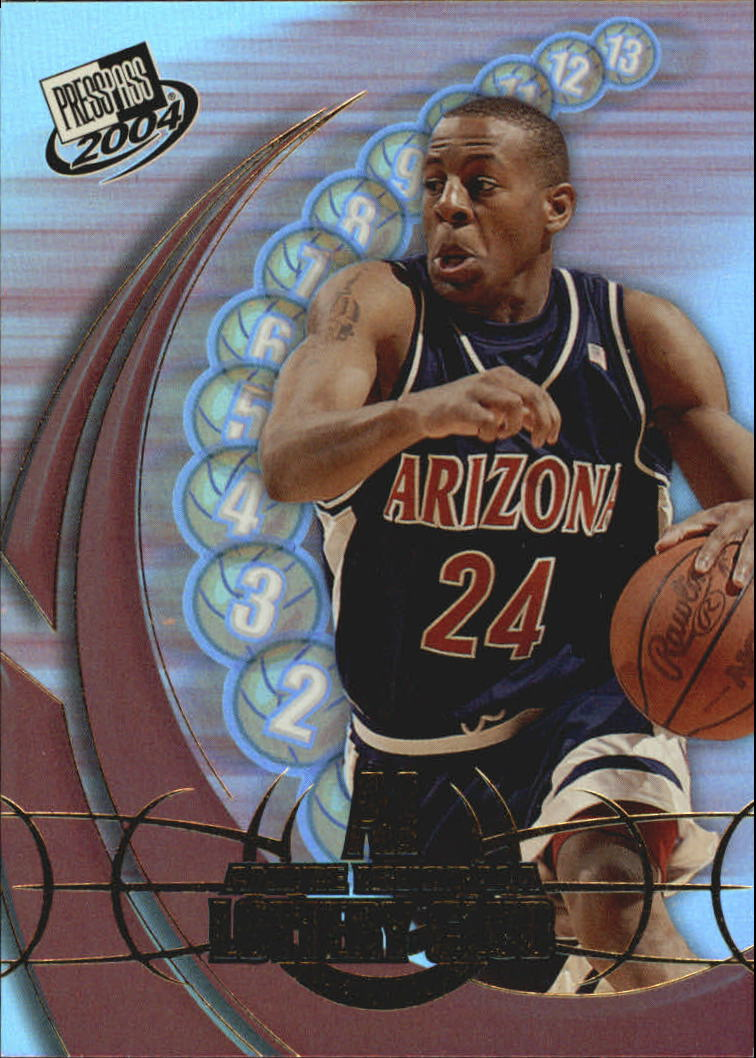 2004 Press Pass Lottery Club #3 Andre Iguodala