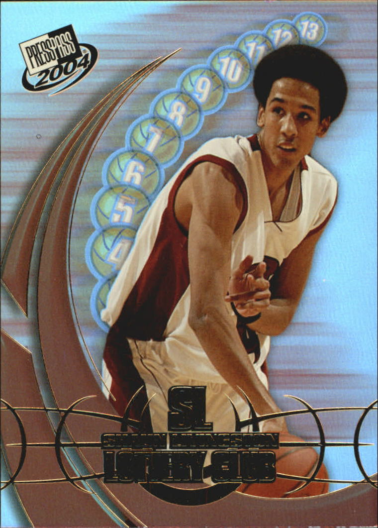 2004 Press Pass Lottery Club #4 Shaun Livingston