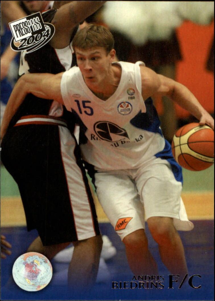 2004 Press Pass #3 Andris Biedrins