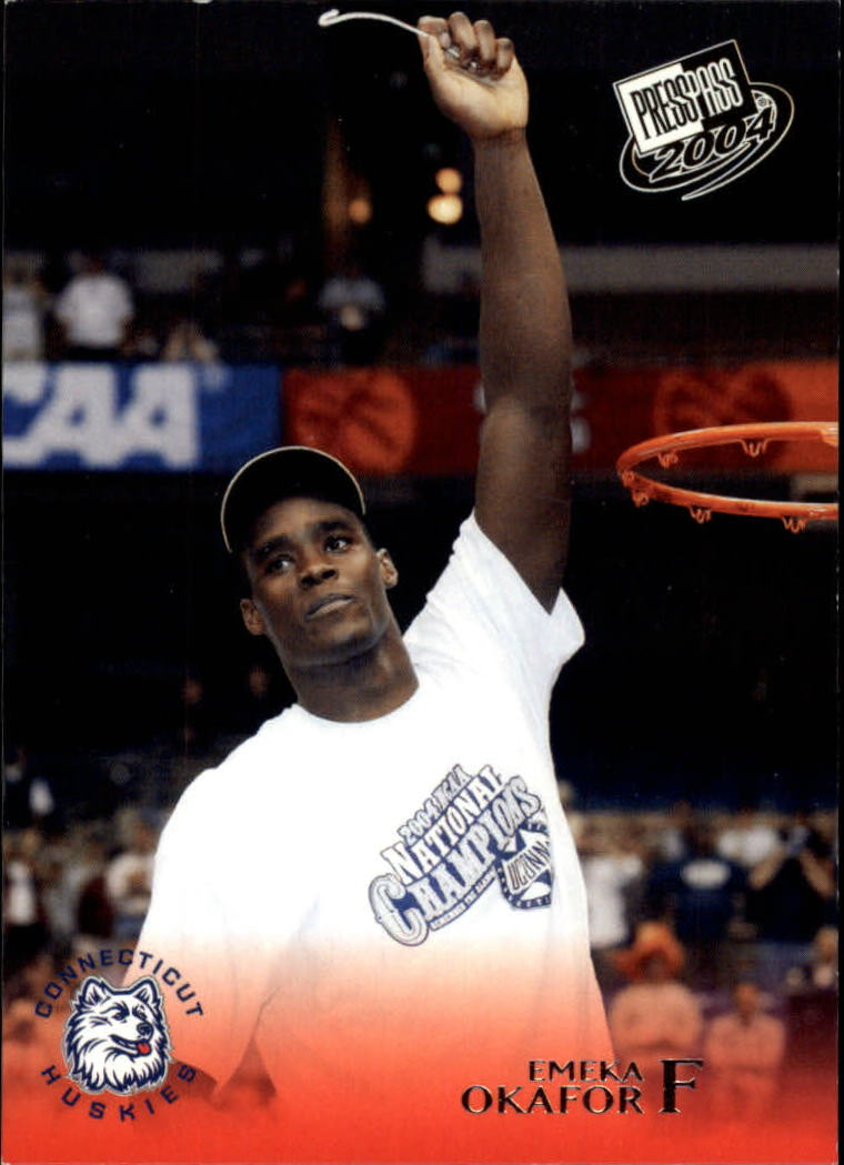 2004 Press Pass #33 Emeka Okafor CL