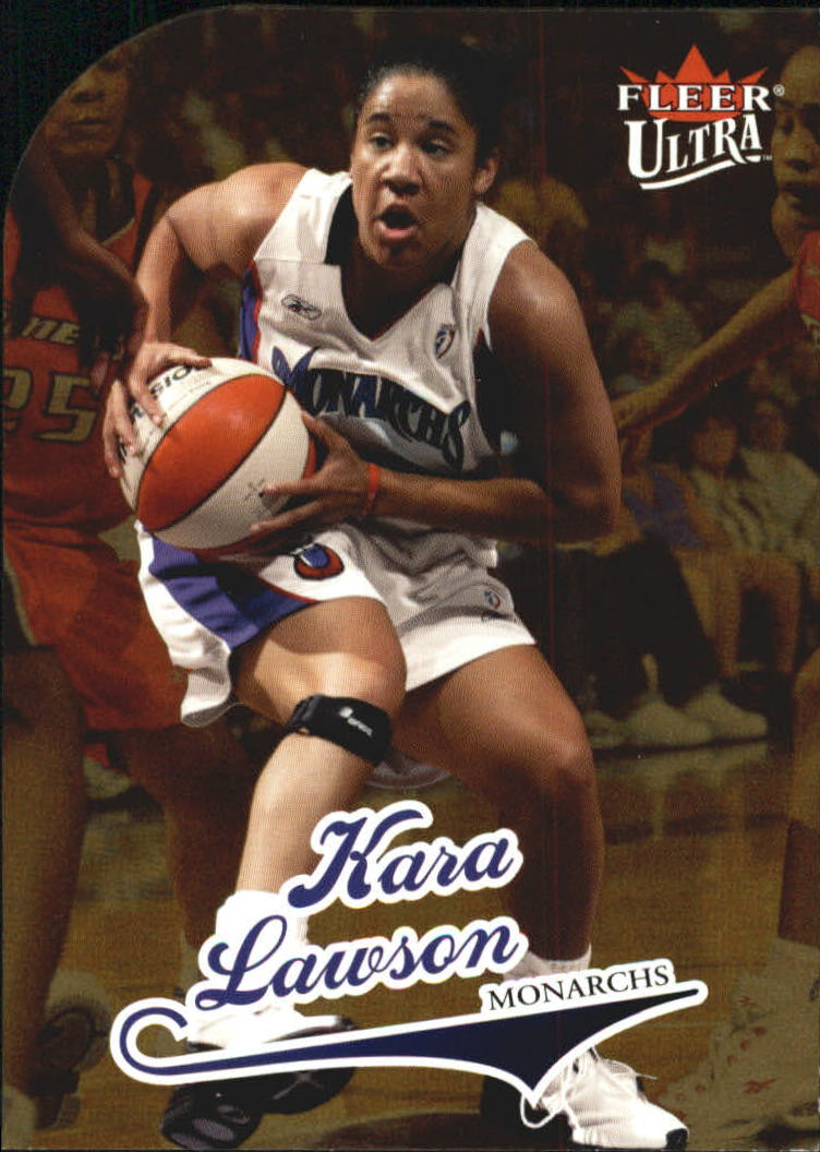 2004 Ultra WNBA Gold Medallion #20 Kara Lawson