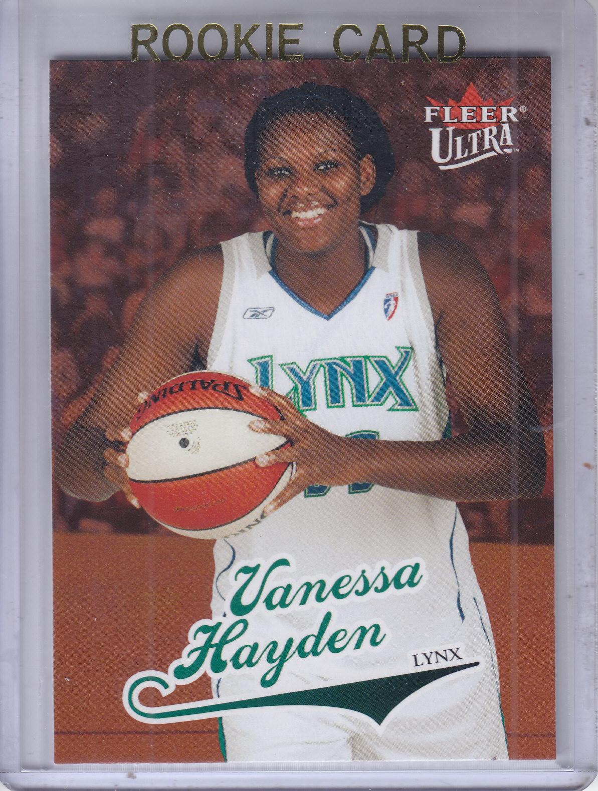 2004 Ultra WNBA #97 Vanessa Hayden RC