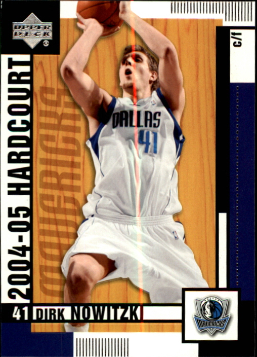 2004-05 Upper Deck Hardcourt #17 Dirk Nowitzki