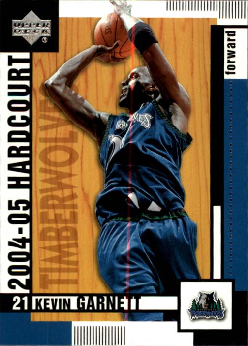 2004-05 Upper Deck Hardcourt #49 Kevin Garnett
