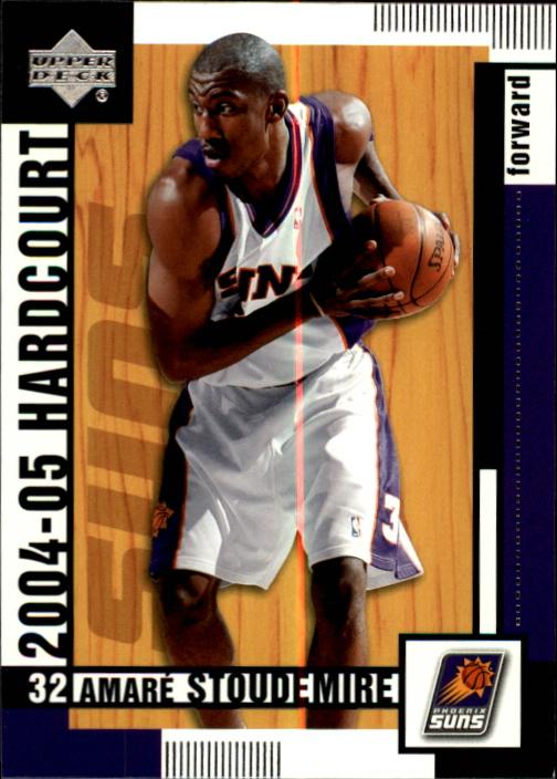 2004-05 Upper Deck Hardcourt #67 Amare Stoudemire