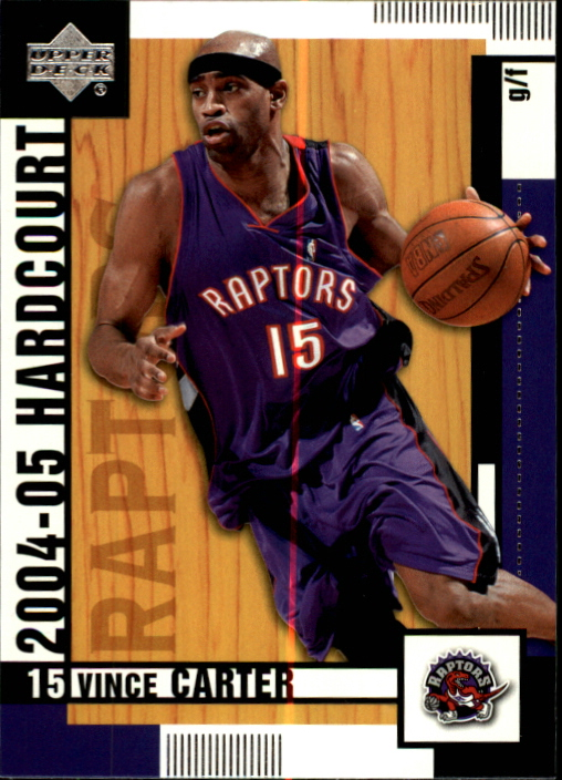 2004-05 Upper Deck Hardcourt #84 Vince Carter