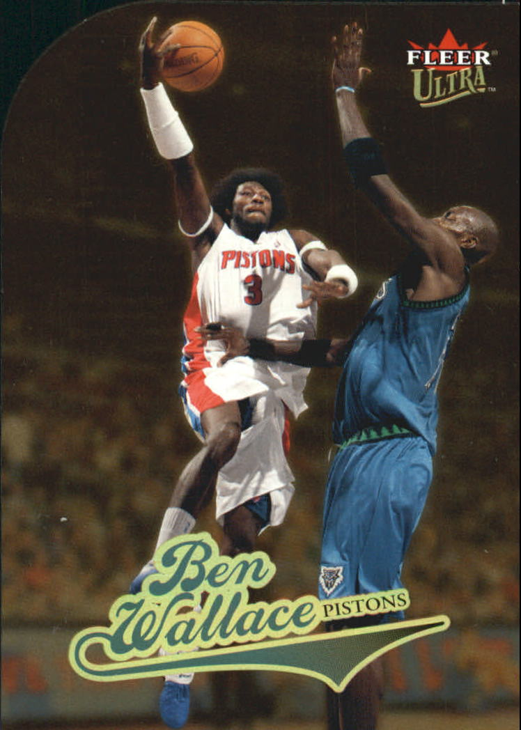 2004-05 Ultra Gold Medallion #1 Ben Wallace