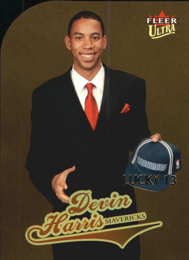 2004-05 Ultra Gold Medallion #180 Devin Harris L13