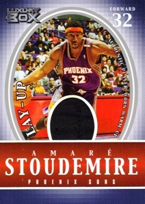 2004-05 Topps Luxury Box Lay-Up Relics #AS Amare Stoudemire