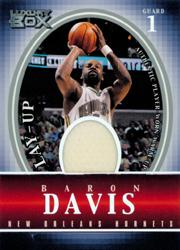 2004-05 Topps Luxury Box Lay-Up Relics #BD Baron Davis