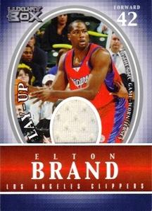 2004-05 Topps Luxury Box Lay-Up Relics #EB Elton Brand