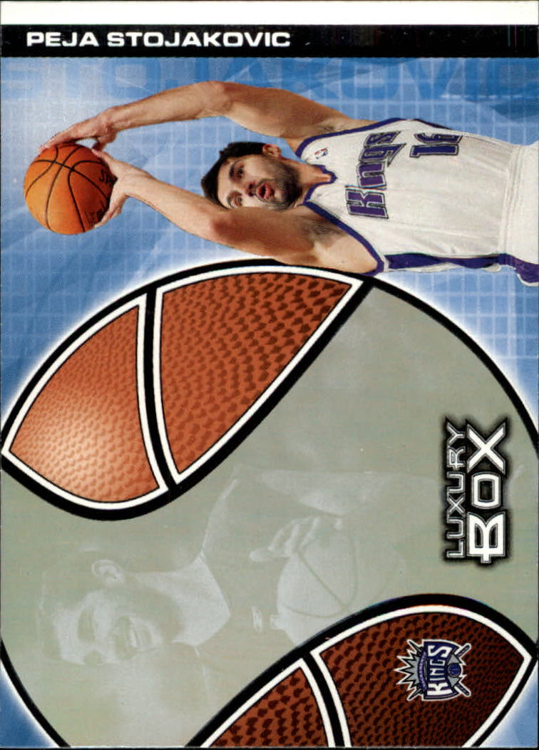 2004-05 Topps Luxury Box #2 Peja Stojakovic