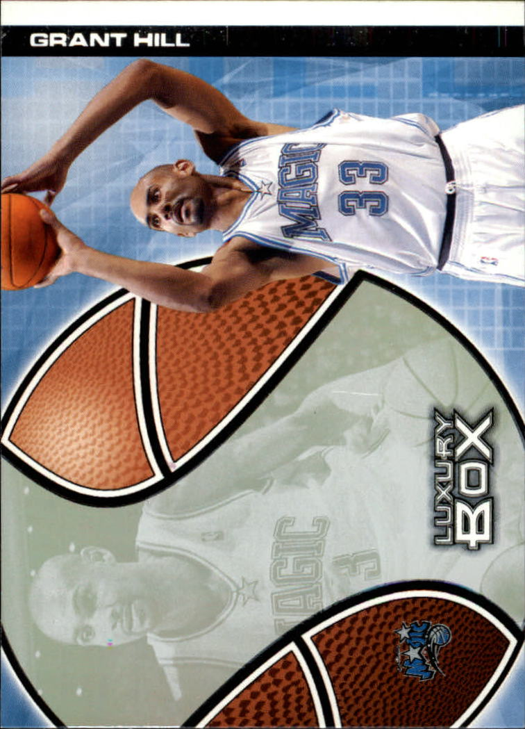 2004-05 Topps Luxury Box #3 Grant Hill