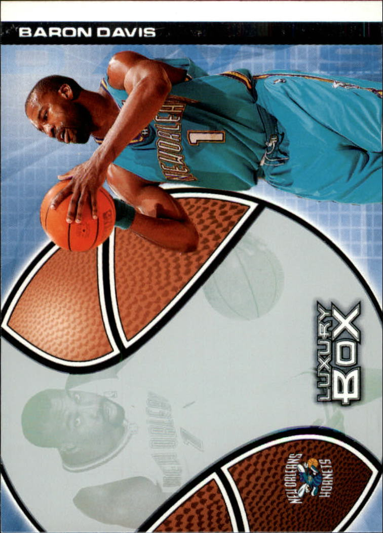 2004-05 Topps Luxury Box #4 Baron Davis