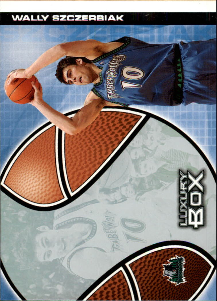 2004-05 Topps Luxury Box #5 Wally Szczerbiak