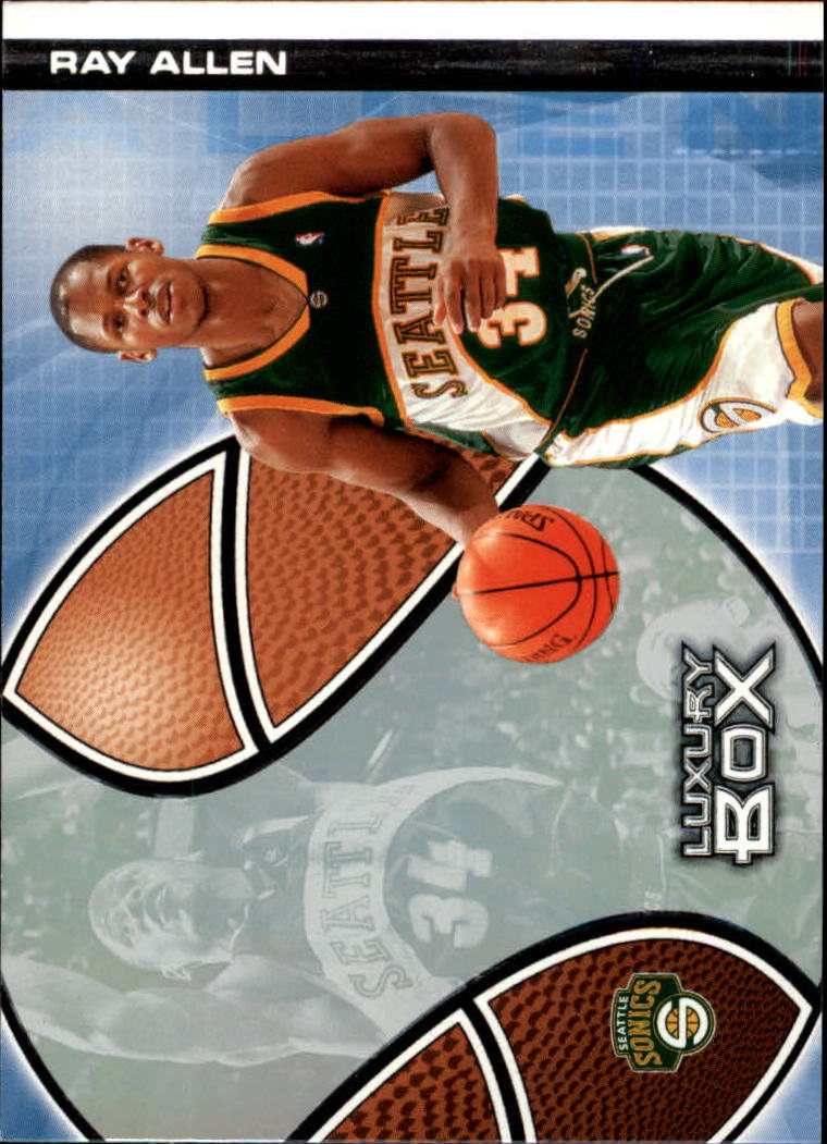 2004-05 Topps Luxury Box #6 Ray Allen